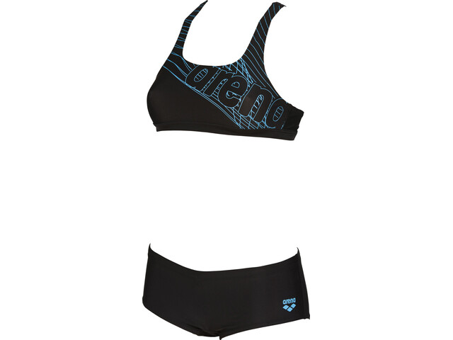 arena Altair Two-Pieces Swimsuit Damen black-sea blue